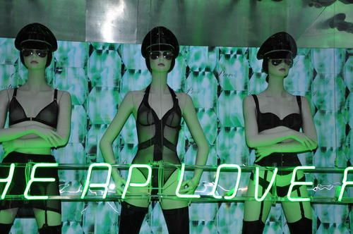 London 2009, underwear - Visual Merchandising