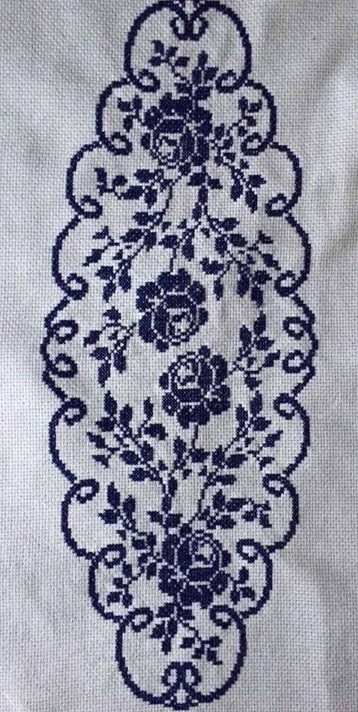 Crossstitch runner