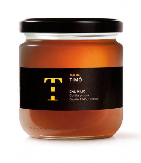 Designed by Puigdemont Roca | Country: Spain A clever and subtle solution for Mel de Cal Milio honey.