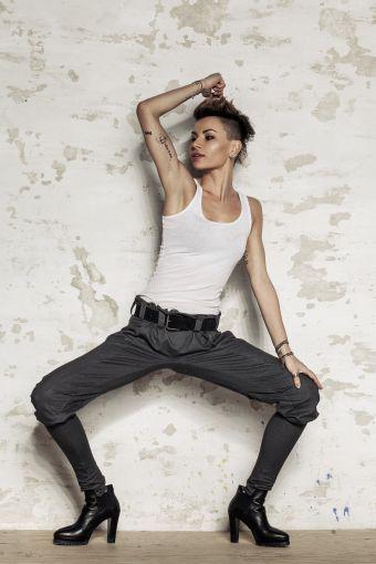 Spodnie STREET - spodnie, długie,