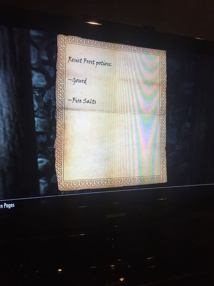 Anyone know what's up with this potion recipe that calls for a gourd? I can't use a gourd with my alchemy table. #games #Skyrim #elderscrolls #BE3 #gaming #videogames #Concours #NGC