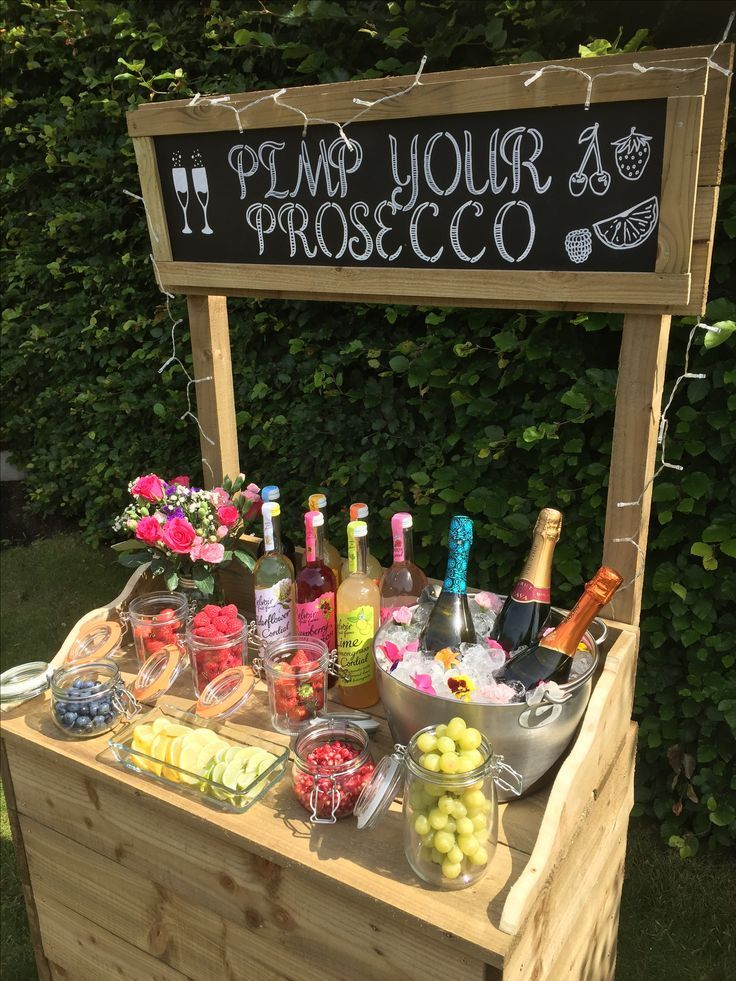 Pimp Your Prosecco Bar für die Hochzeit I Foreverly #foreverly #hochzeit #pros – Hochzeitskleid