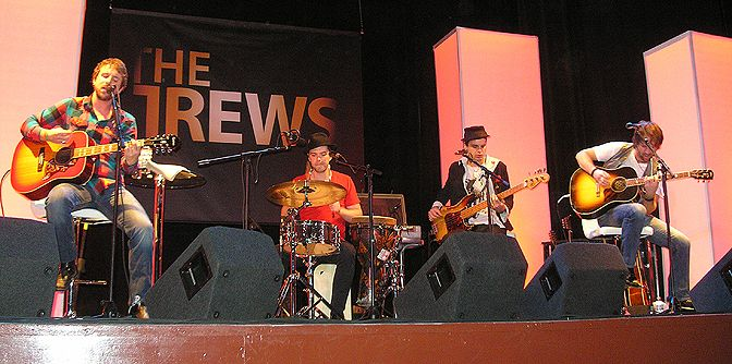 #tbt to the 2009 Trews acoustic tour. Picton, ON, Nov. 10th. Taken by us. The band is on their Canadian acoustic tour right now. All details and ticket info are on their website.