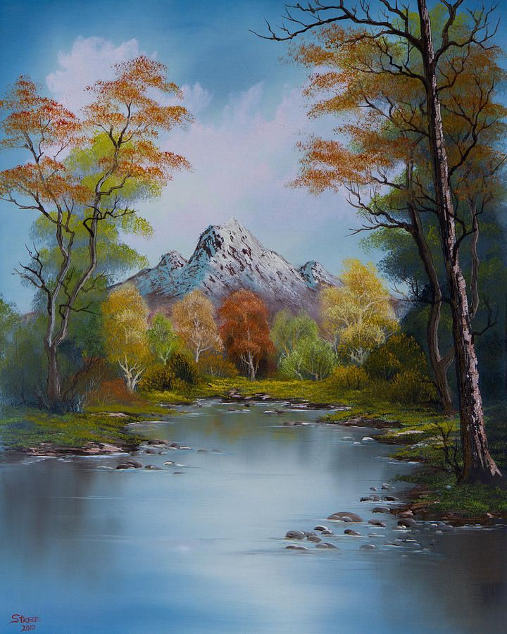 Ready For Fall Painting by C Steele