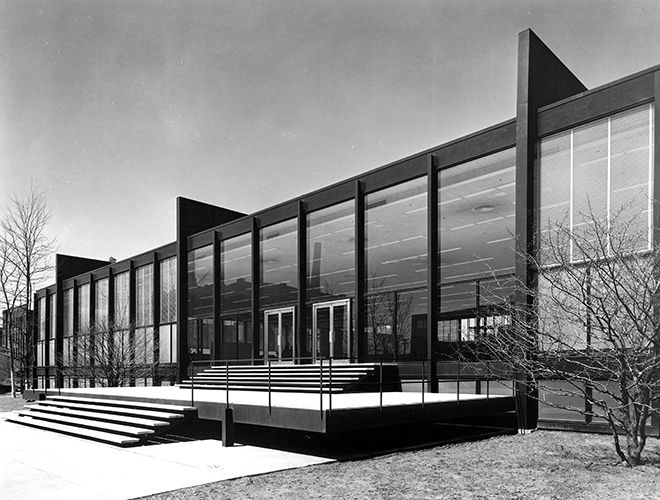 Illinois Institute of Technology, 1986. © Architectural Press Archive / RIBA Library Photographs Collection