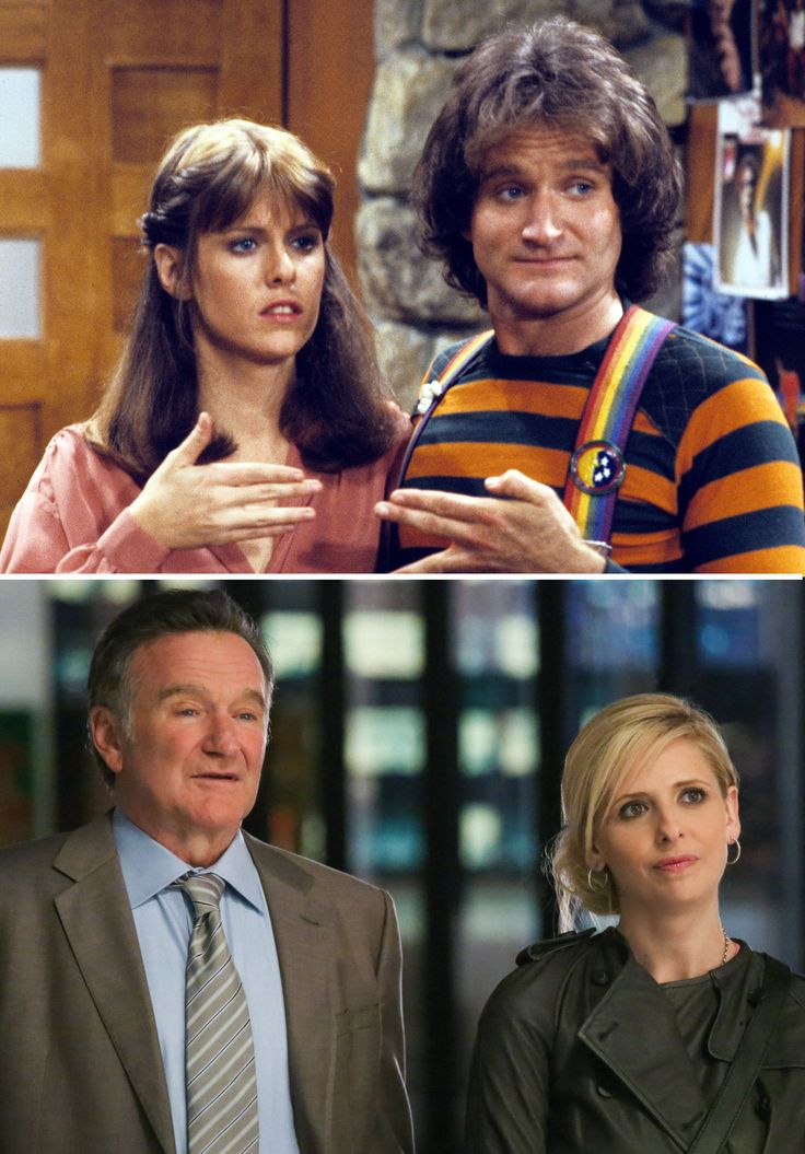 Heeeeee's Baaaaaack! You've always known that ROBIN WILLIAMS is a crazy one. His new TV show's title was a slam dunk! Don't you hope he references his Mork character in the show? The Crazy Ones on CBS Thursdays.