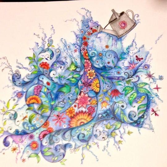 1000 Ideas About Secret Garden Coloring Book On Pinterest