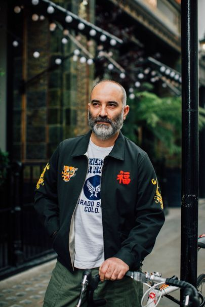 Street style photographer Jonathan Daniel Pryce (aka Garcon Jon), shoots the best-dressed men working on Henrietta street - London's latest, greatest menswear strip.