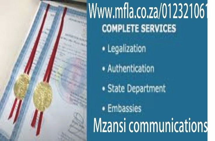 Are you looking for document legalization andSworn translation In the Gauteng?We deal in all sorts of official documentslike, Marriage Certificate, Birth Certificate, Letter of impediment,educational certificates, for use in China, Taiwan, Saudi Arabia, Qatar, UAE,Kuwait, Oman, Spain, France, Greece, USA, Canada, UK, New Zealand.Let us assist you with the notarization,apostille and Embassy verification of your documents. We will take thefrustration out of obtaining the documents and…