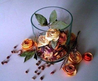 DIY Τριαντάφυλλα από Πορτοκάλι | Φτιάξτο μόνος σου - Κατασκευές DIY - Do it yourself