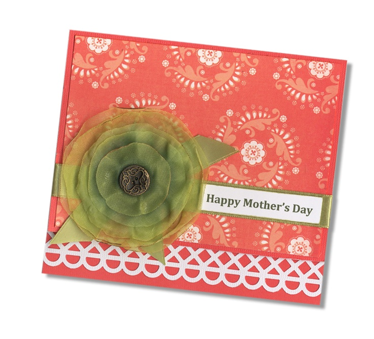 like the flowerCards Mothers, Simply Cards, Scrap Cards, Postcards Ideas, Cards Cards, Mothers Day Cards, Homemade Cards, Cards Scrap, Cards Crafts