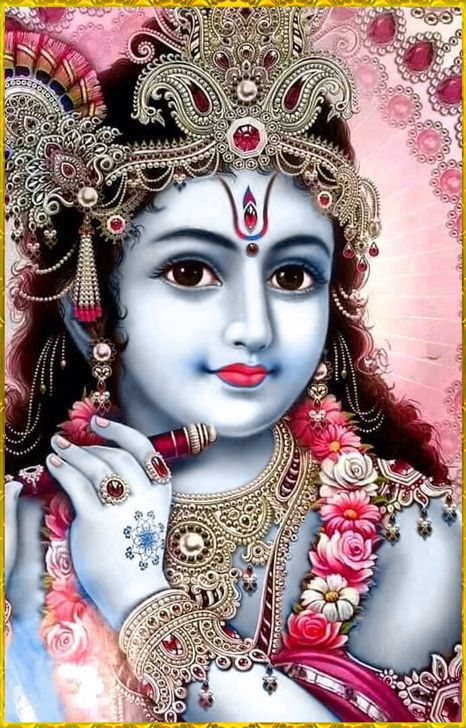 "☀ SHRI KRISHNA ॐ ☀ ""The entire universe, which is full of living entities, is like a tree whose root is the Supreme Personality of Godhead, Acyuta Krishna. Therefore simply by worshiping Lord Krishna one can worship all living entities.""~Srimad..."