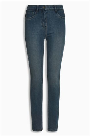 Smokey Blue Denim Leggings