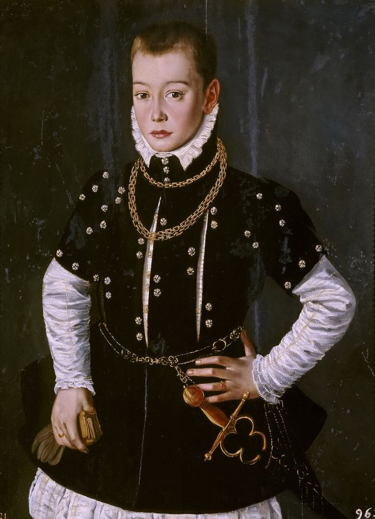 Аноним Портрет ребенка ок1570