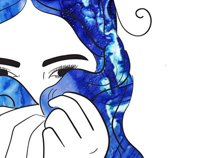 "Check out new work on my @Behance portfolio: ""Mermaid Hair"" http://on.be.net/1PGhXhx"
