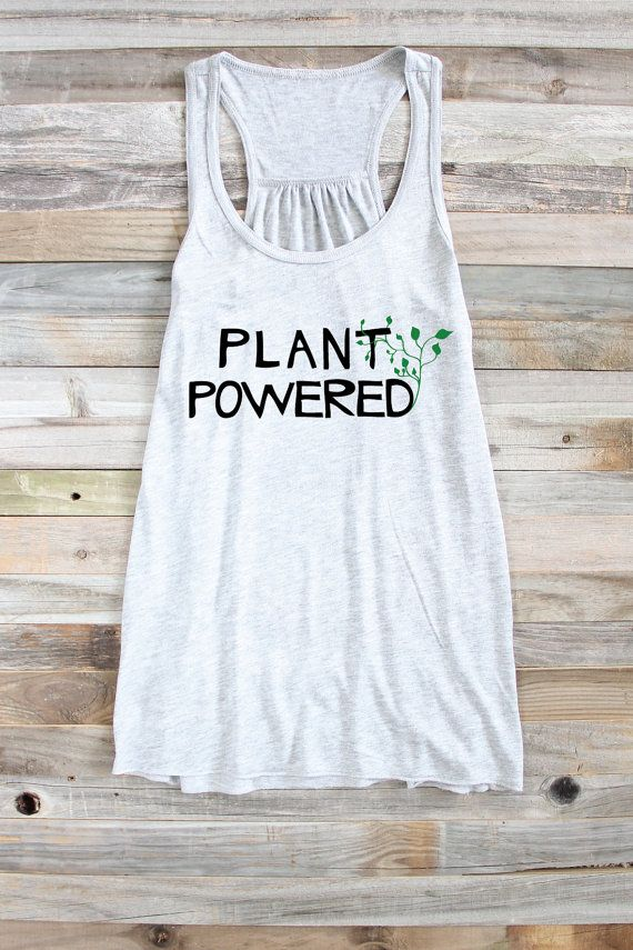 Vegane Tank - Pflanze angetriebene Tank - lustige Vegan Tank - vegetarische vegane Top - vegane Shirt - Tank-Top