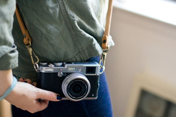 Customer Submissions: Killer combo. Fuji X100s | Antique Tan Sling