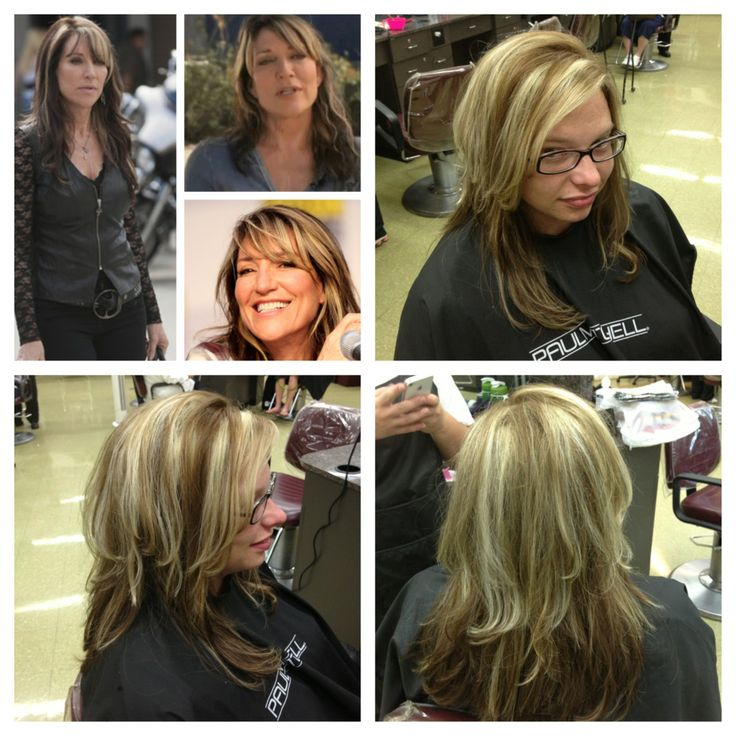 """Not even close to Gemma Teller"" hair I did on a client. Suck my fuck ya catty bitches."