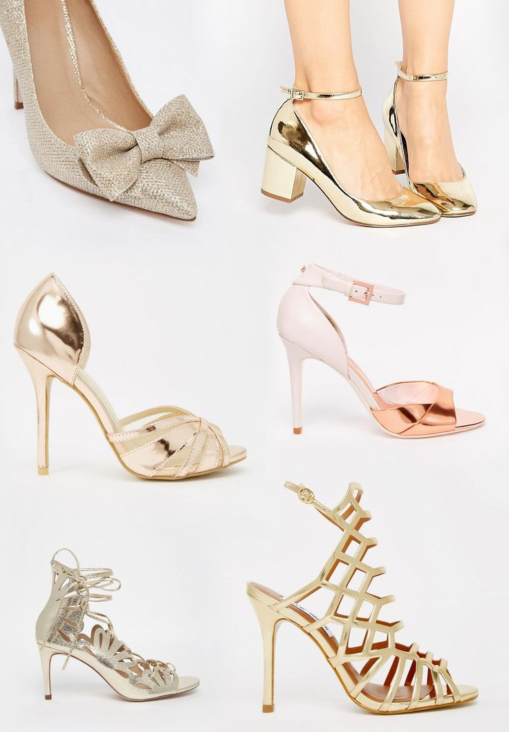 Our favorite metallic shoes