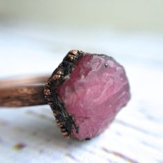 Rough ruby ring Red ruby ring Real ruby ring by HAWKHOUSE                                                                                                                                                                                 More