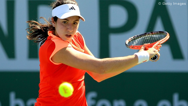 Christina McHale, a young American tennis player from New Jersey