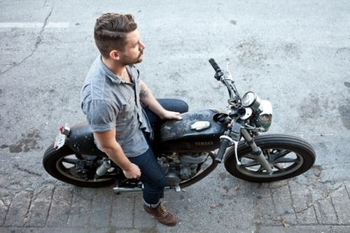 Chambray: Motorcycles, Men S Style, Fashion, Motorbike, Mens, Bikes, Cars, Styles, Cafe Racer