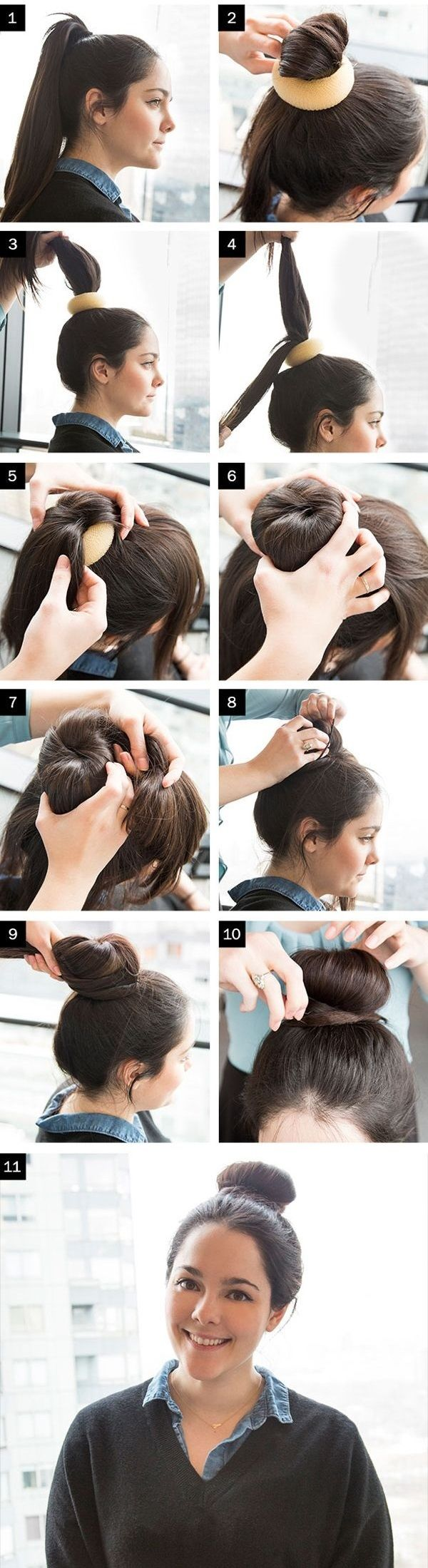 How to Make a Sock Bun: 20 Different Styles..