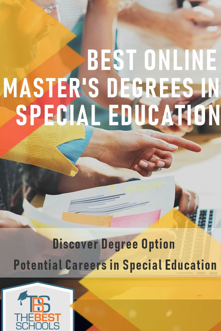 Best online masters in special education online