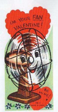 Valentine Card- 1950s