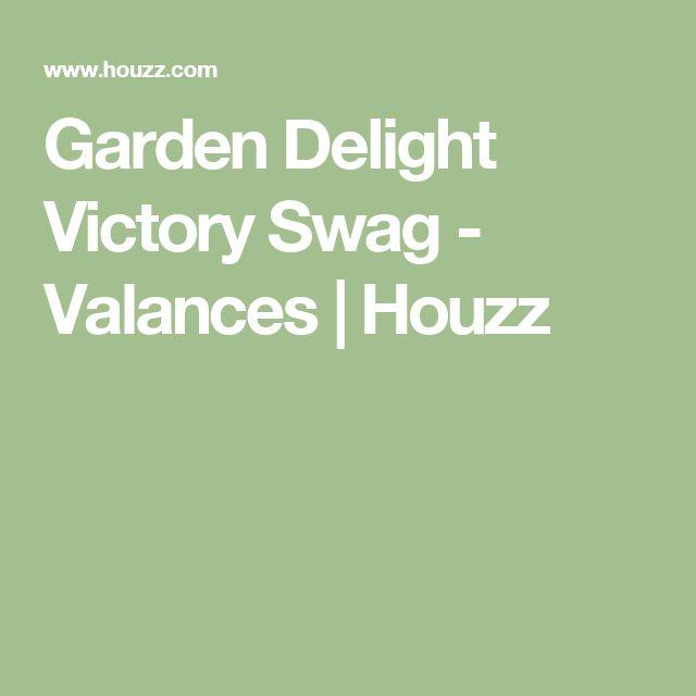 Garden Delight Victory Swag - Valances | Houzz