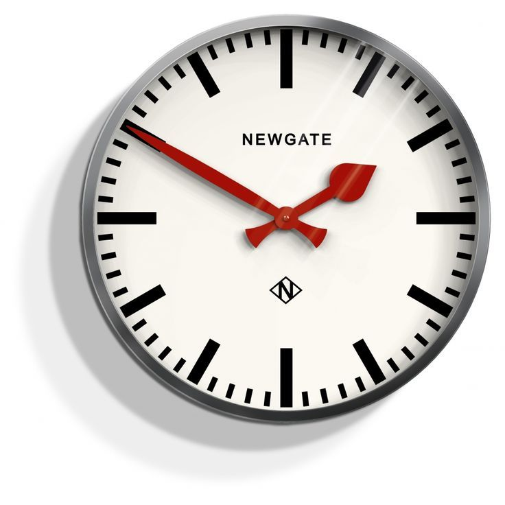 Buy Home Accessories Part - 42: Buy Newgate Clocks The Luggage Clock - Linen White