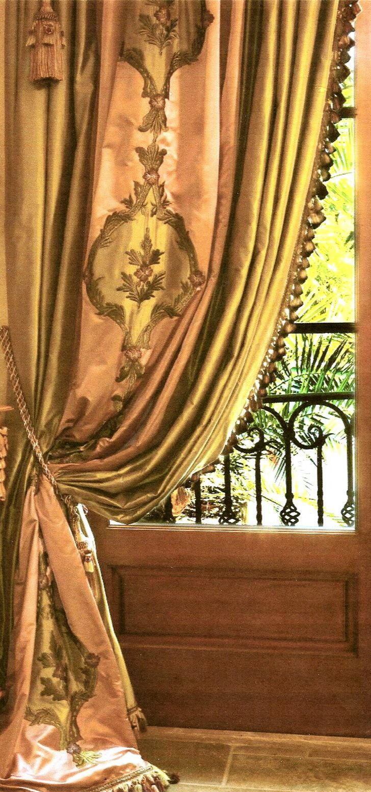 grommet and drapestyle curtains grommets draperies custom silk at with drapes luxury