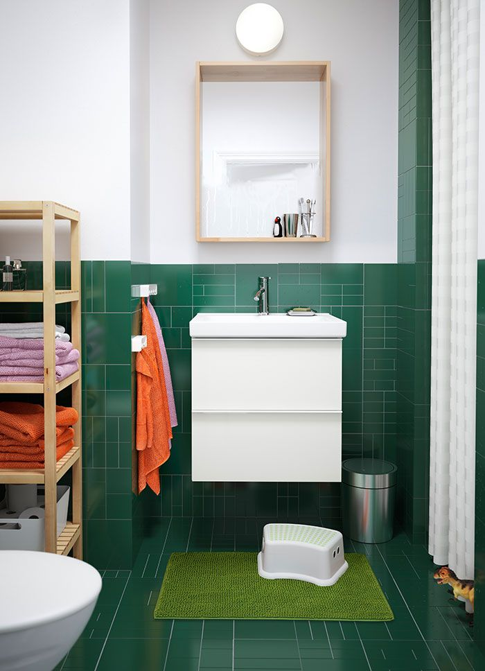 5 Tips for Living in a Small (Rental) Bathroom - Thanks @IKEAUSA #First59