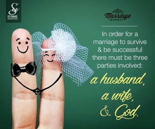 Marriage is Husband,  Wife & God
