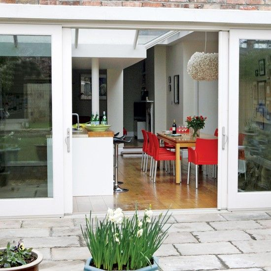Patio | Edwardian terrace | Ideal Home | House tour | PHOTO GALLERY | Decorating ideas