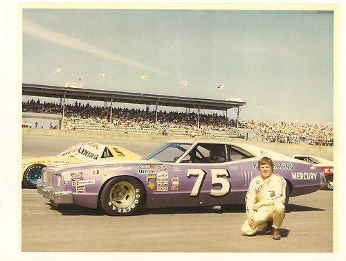 "Dick Trickle 1973 Mercury Montego GT he ran for Del Puro in NASCAR in '74  ""The White Knight"" Dick Trickle on Facebook"