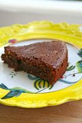 Chocolate, hazelnut and buckwheat cake - Κέικ με σοκολάτα, φουντούκια και φαγόπυρο