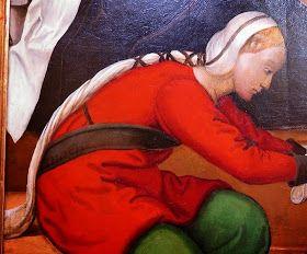 TRANZADO  Cofia original y, por qué no, elegante.   Está documentada por primera vez hacia 1410 aunque aparece a finales del siglo ...