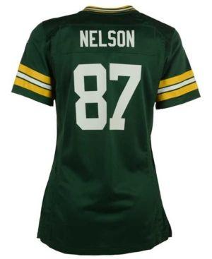 Nike Women's Jordy Nelson Green Bay Packers Game Jersey - Green XS