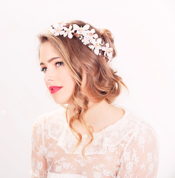 Headpieces For Wedding Pinterest: 1000+ Ideas About Flower Headpiece Wedding On Pinterest