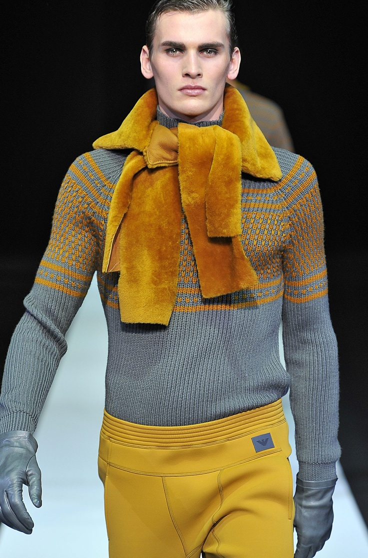 Emporio Armani FW 13/14 - Milan Men's Fashion Week