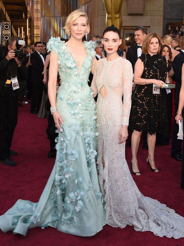 【総合司会】ケイト・ブランシェット(Cate Blanchett)、ルーニー・マーラ(Rooney Mara)2016紅白ドレス合戦の司会は、エルシネマ大賞にも選ばれた、映画『キャロル』の主演キャストふたりを勝手に妄想。大女...