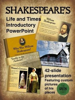 A discussion on the presentation of william shakespeare on film