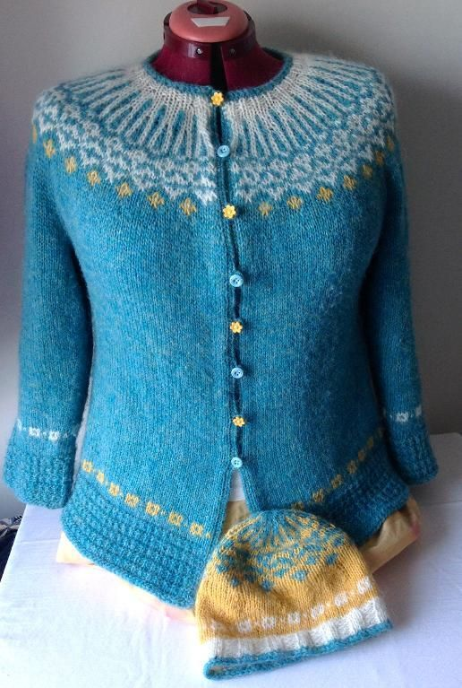 Looking for knitting project inspiration? Check out QuiltMoxie Icelandic Sweater by member QuiltMoxie. - via @Craftsy