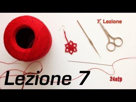 ▶ Chiacchierino Ad Ago - 7˚ Lezione Diritto Rovescio Quando Girare Lavoro Bijoux DIY Tutorial - YouTube