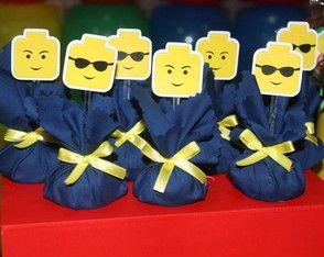 Trouxinha de Bombom Lego