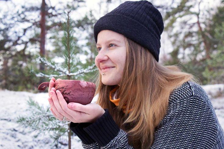 KUPILKA Suomi Finland 100 ekologinen kuppi -Karpalo