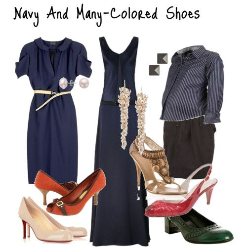 what shoes to wear with navy a collection of s