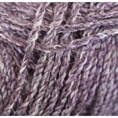 Makes a great scarf or head wrap. #yarn .Marble Chunky - Grape