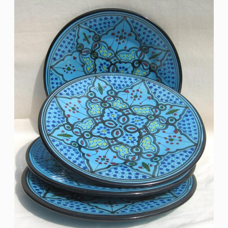Tunisian plates & 34 best Tunisian plates images on Pinterest | Dishes Ceramic art ...